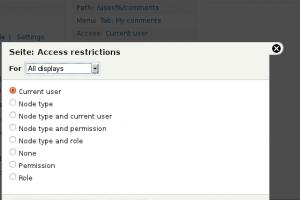 Drupal 7 tip: Create a custom views access plugin | English